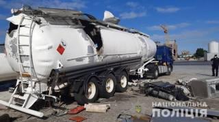 Житель Херсонщины погиб в результате взрыва автоцистерны в Киеве