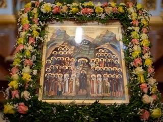 В Киево-Печерской лавре празднуют Собор преподобных отцов Киево-Печерских в Дальних пещерах