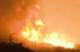 Еще один американский штат охватили жуткие пожары