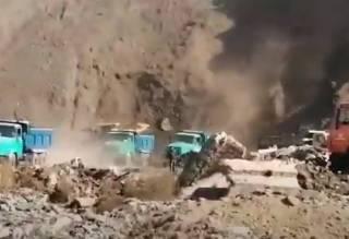 Появилось видео масштабного пожара на криворожской свалке