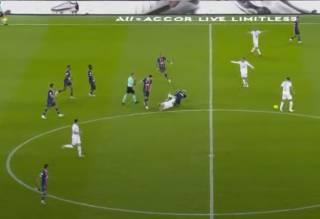 В чемпионате Франции произошел грандиозный скандал: появилось видео