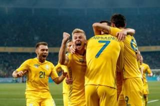 Сборная Украины сохранила свои позиции в рейтинге ФИФА