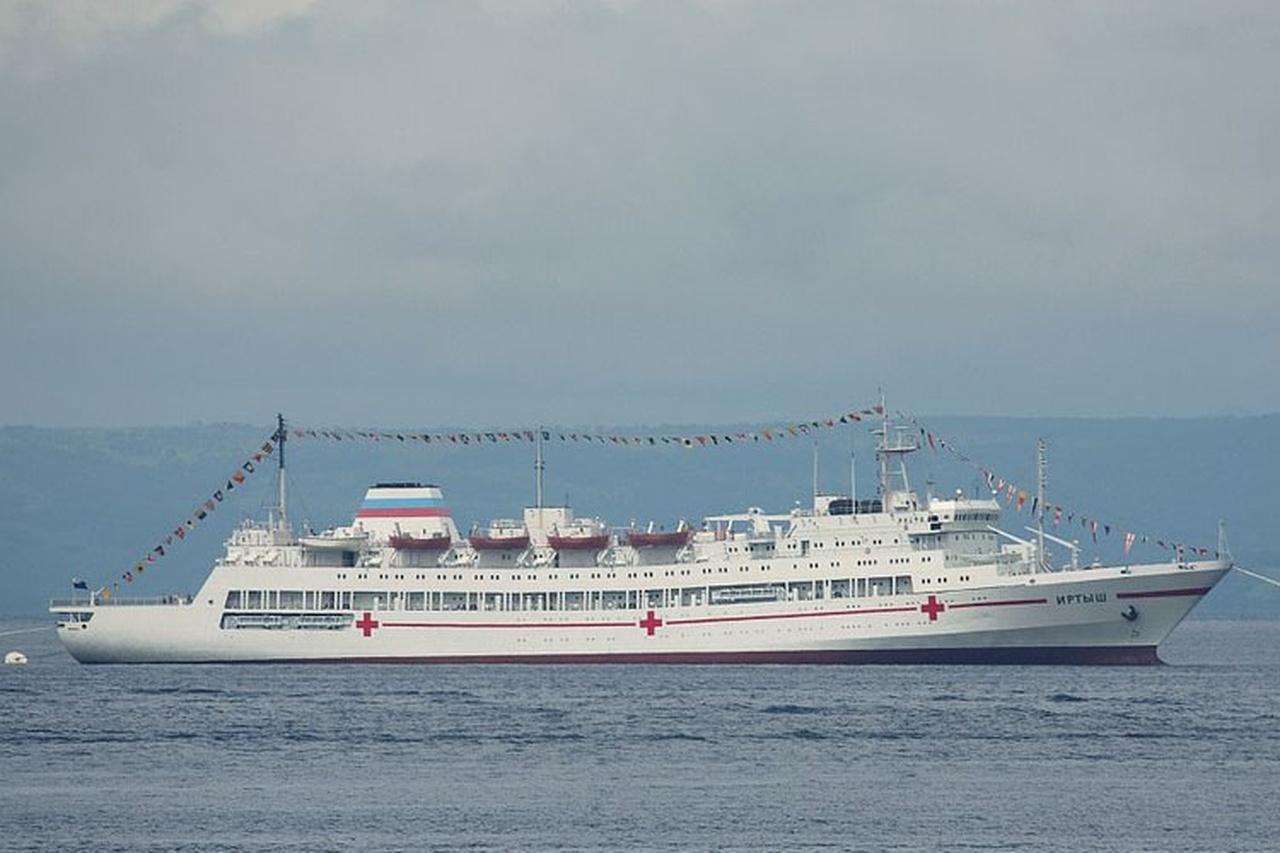 госпитальное судно ВМС России