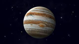 Появились снимки таинственного белого шторма на Юпитере