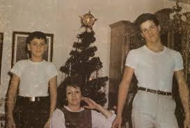 Жаклин Сталлоне с сыновьями