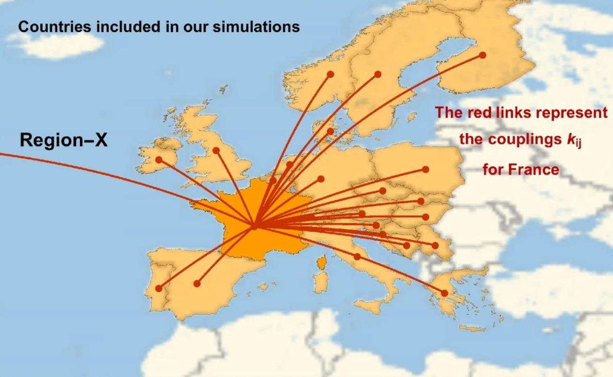 Карта коронавируса в Европе