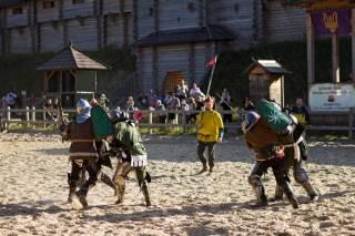 Под Киевом завершился Фестиваль средневекового боя