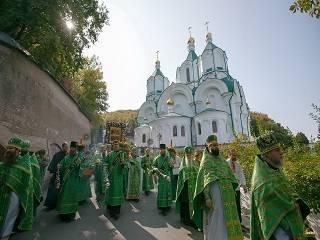 В Святогорской лавре отпраздновали Собор Святогорских святых и 20-летие освящения Успенского собора