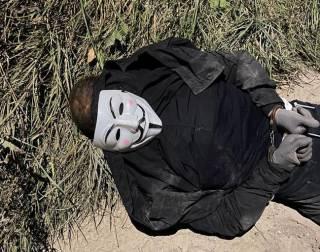 Разбой на 200 тысяч долларов: СБУ в Киеве задержала бандита в маске Гая Фокса