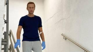 Навальный рассказал о таинственной встрече с Меркель