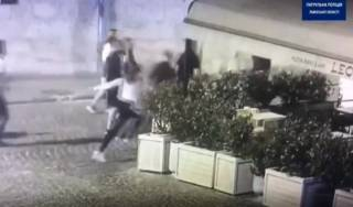 Отморозок устроил стрельбу в центре Львова