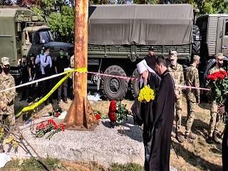 Церковь молится об упокоении погибших в авиакатастрофе на Харьковщине