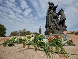 Предстоятель УПЦ принял участие в государственных мероприятиях в День памяти жертв Бабьего Яра