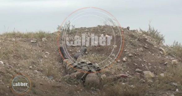 Якобы убитый армянский солдат в ходе нагорно-карабахского конфликта