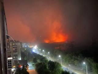 На Луганщине бушуют лесные пожары. Есть жертвы