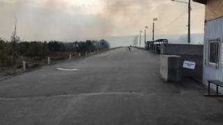 Число жертв пожаров на Луганщине растет. На линии разграничения появляются новые очаги возгорания
