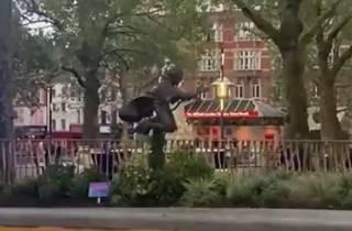 В Лондоне появился необычный памятник