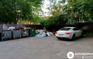 Неизвестный автолюбитель припарковал автомобиль за $100 тыс. на свалке