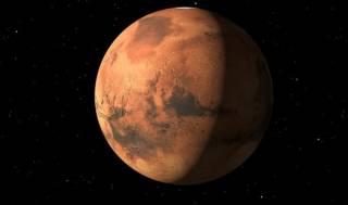 Сегодня Марс «закроет» Землю