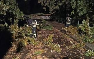 Появилось эпичное видео урагана в Ивано-Франковске