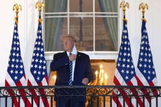 У Трампа заметили серьезные проблемы с дыханием