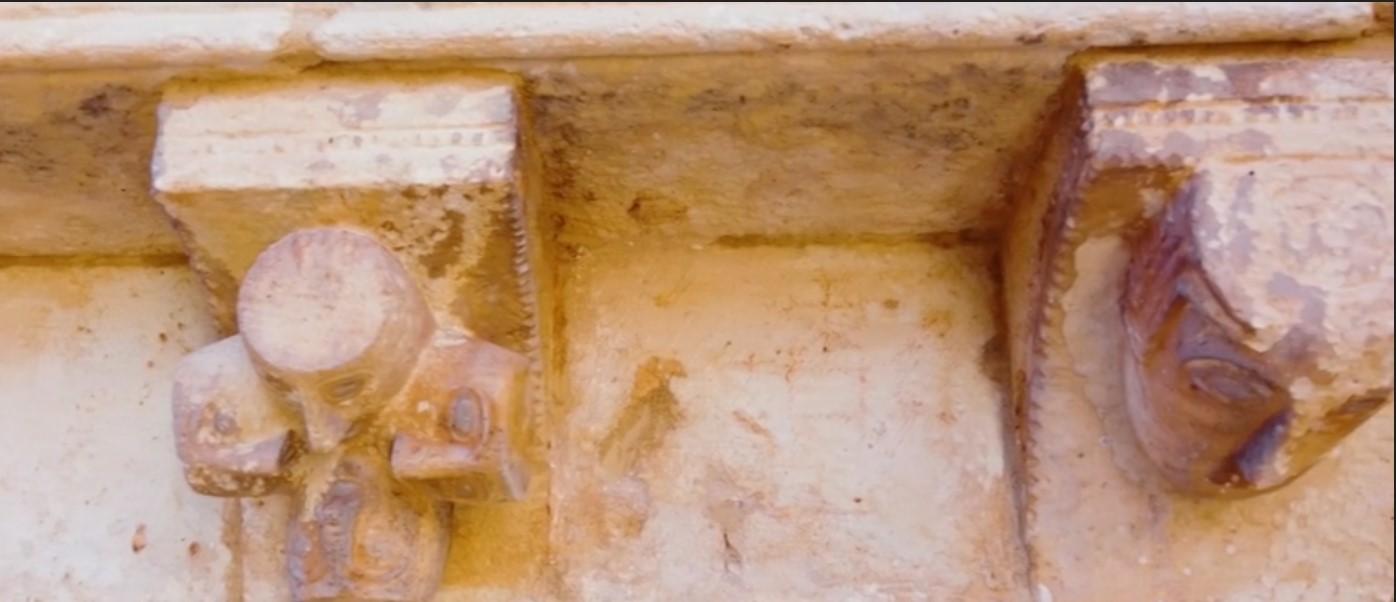 символы монастыря Сан-Бартоломе