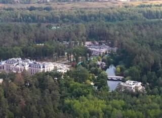Журналисты сняли видео шикарного имения Ахметова с высоты птичьего полета
