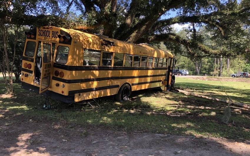 Школьник угнал автобус в США