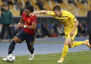Лига наций: сборная Украины сотворила сенсацию в домашнем матче с Испанией