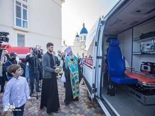 В Одесской области на территории скита УПЦ открыли подстанцию экстренной медицинской помощи