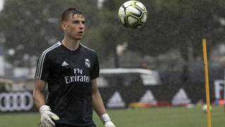 Украинский вратарь «Реала» может дебютировать в Лиге чемпионов в матче против «Шахтера»