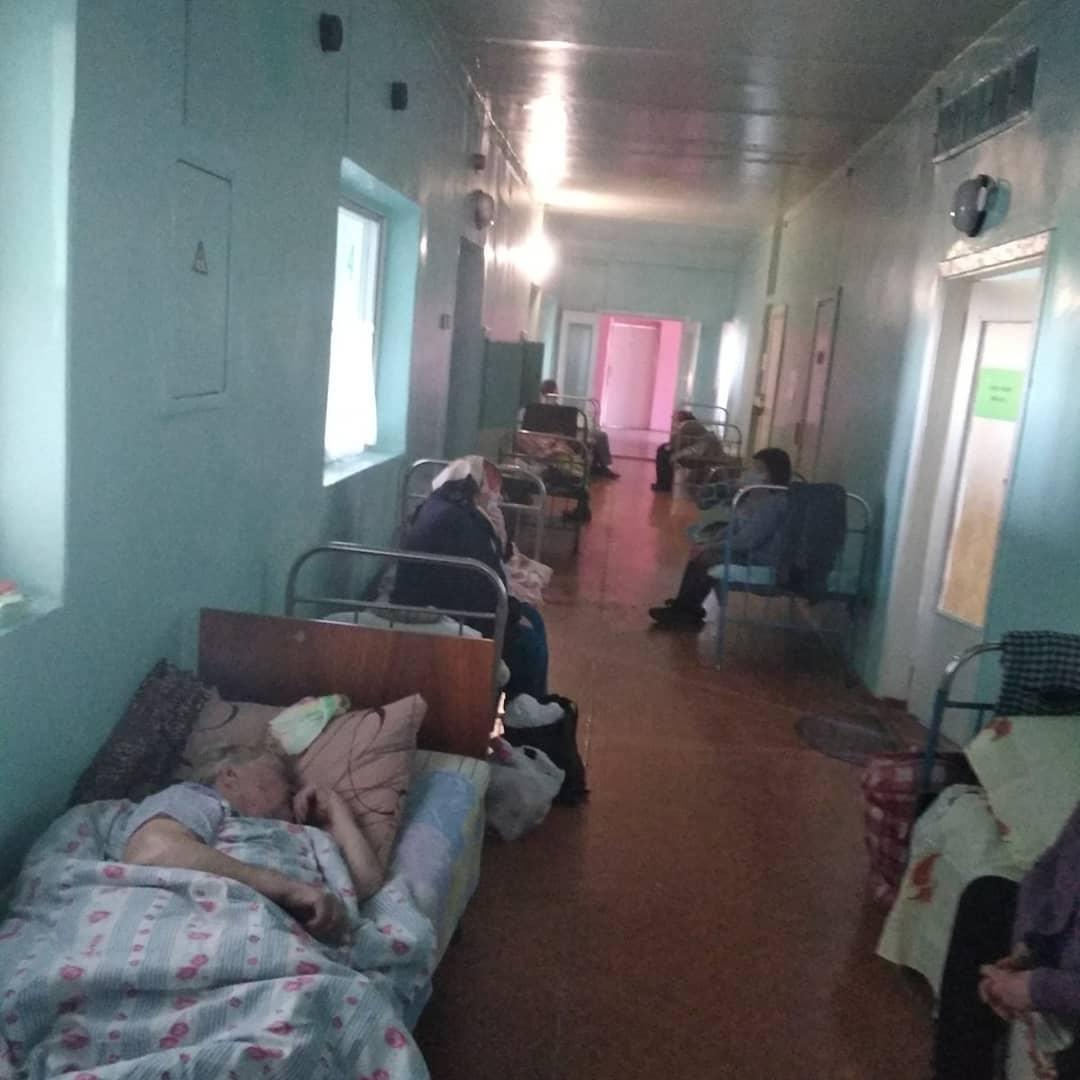 Инфекционное отделение Купянской районной больницы Харьковской области