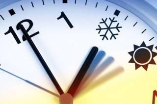 В день выборов Украина переходит на зимнее время