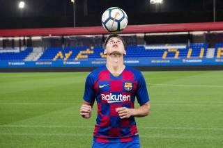 На «Барселону» подали в суд из-за юного футболиста