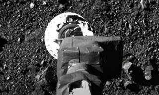 Опубликовано видео с астероида Бенну