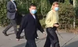 В день выборов с Зеленским произошел пикантный инцидент