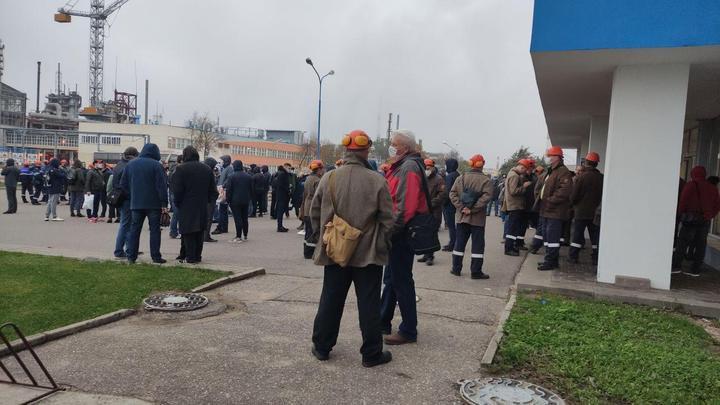 Общенациональная забастовка в Беларуси