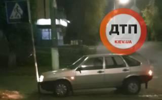 Ночью в Киеве произошел курьезный пьяный инцидент