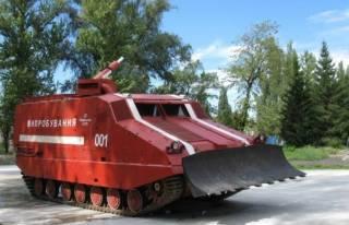 Украинский арсенал: пожарные танки
