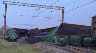 На родине президента кто-то пустил под откос поезд с углем