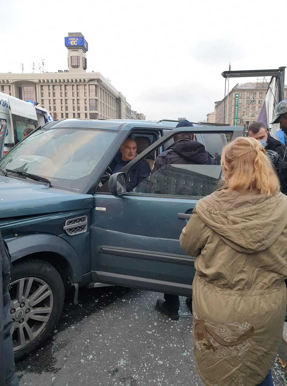 Смертельное ДТП на Майдане Незалежности 30 октября 2020 года