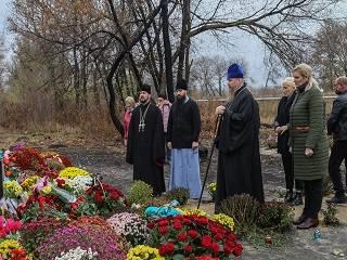 В Чугуеве УПЦ помянули 40-й день погибших в авиакатастрофе АН-26