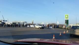 Бизнесмены намерены перекрыть международные трассы по всей Украине