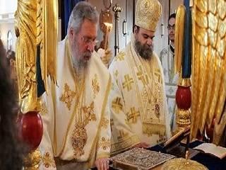 Архиереи Кипрской Церкви прекращают служение с архиепископом Хризостомом