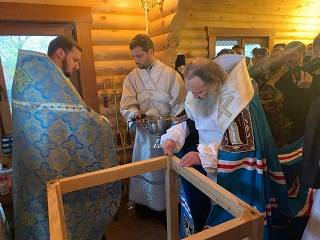На Ровенщине освятили новый храм УПЦ, вместо захваченного сторонниками ПЦУ
