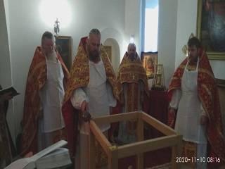 На Ровенщине освятили новый храм УПЦ, вместо захваченного представителями УКП КП