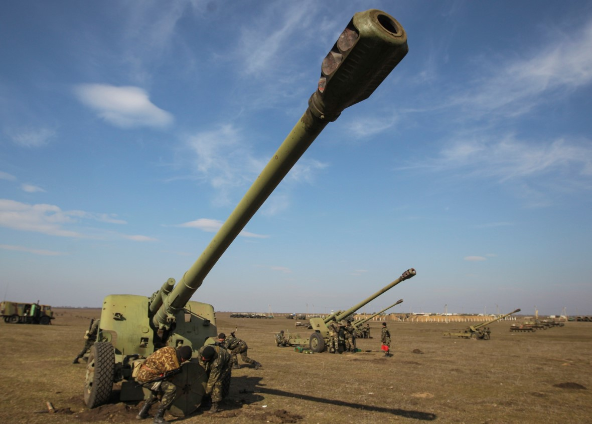 артиллерия 2014 год