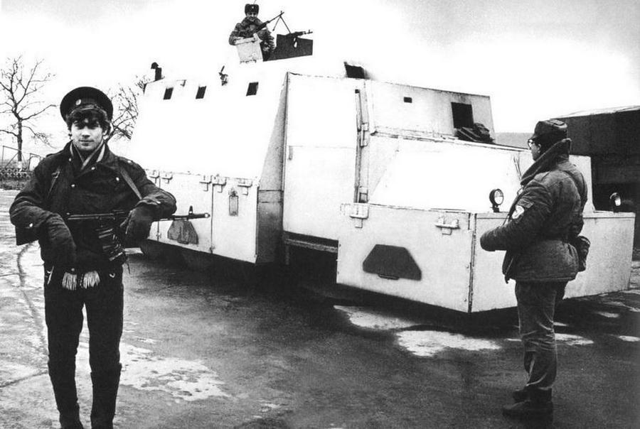 броневик на базе КрАЗ-256Б