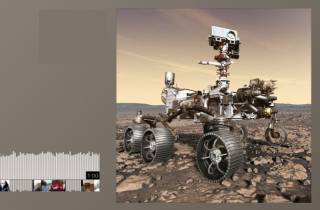 Очередной американский марсоход впервые передал звуки из глубокого космоса