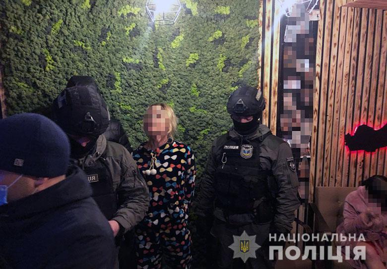 Операция по пресечению деятельности сети борделей в Киеве